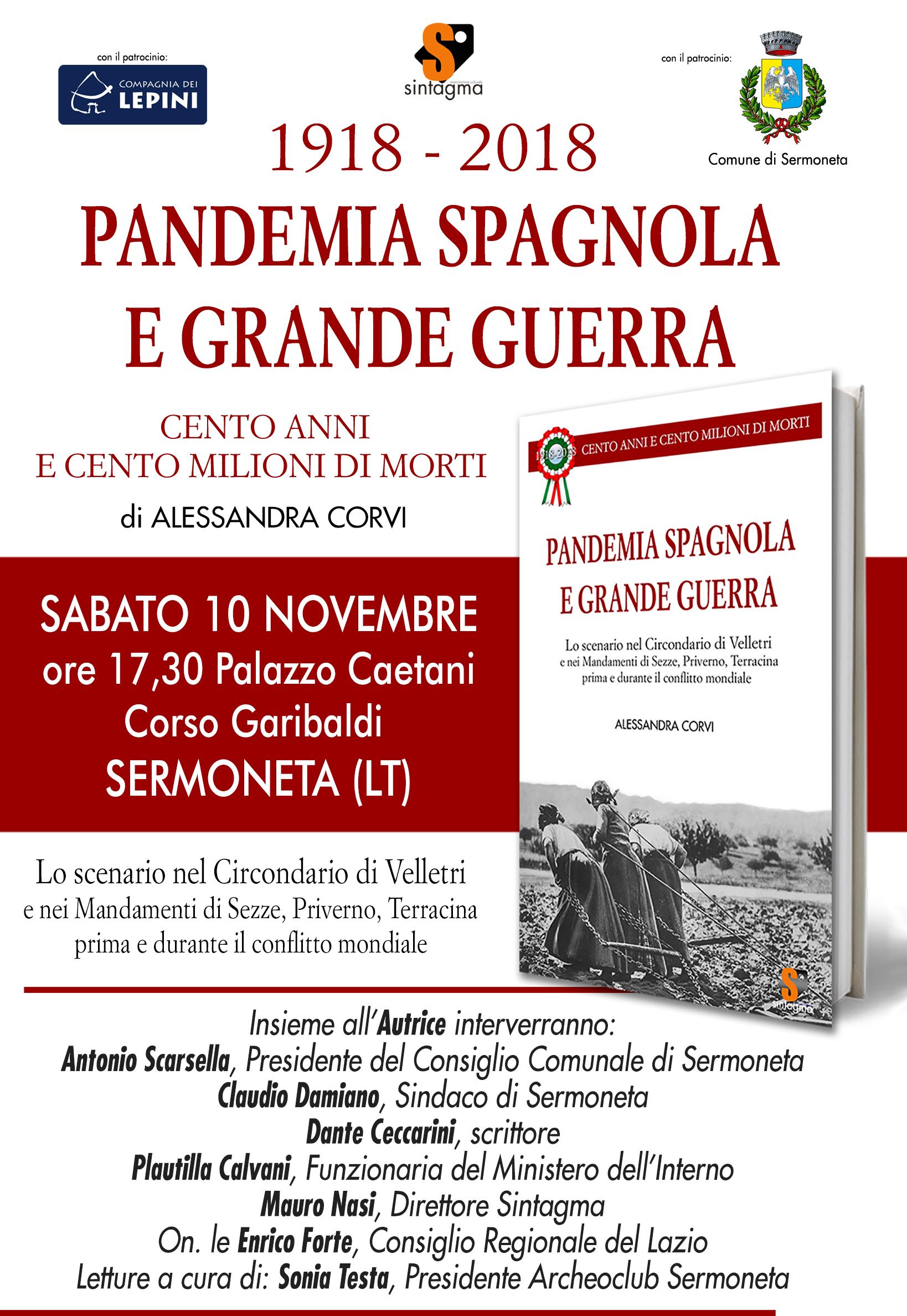 Pandwmia Spagnola e Grande Guerra
